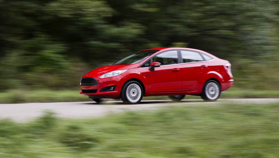 2014 Ford Fiesta 4dr