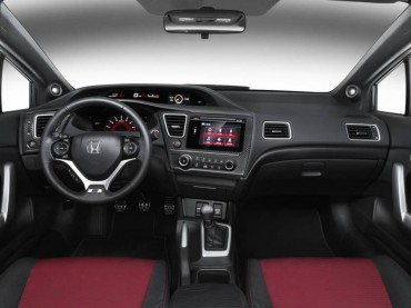 2015 Honda Civic Si interior