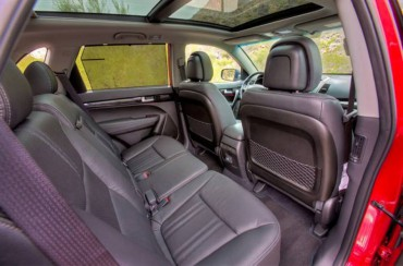 Interior materials are excellent as is the huge sunroof.