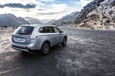 The Mitsubishi Outlander has a handy power tailgate.