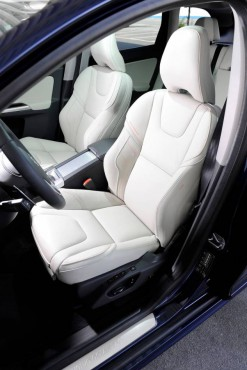 Volvo XC60 sport seats are highly comfortable, supportive, and very safe.