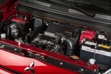 The tiny 1.2-liter 3-cylinder engine produces an anemic 74 horsepower.