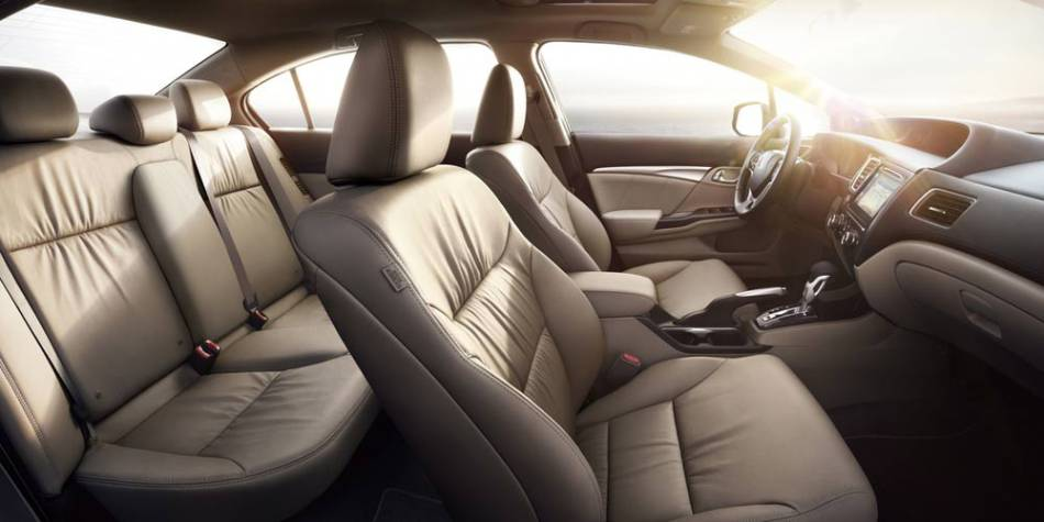 The Honda Civic Interior Features Quality Materials And Ample Room.