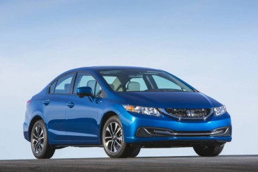 The 2015 Honda Civic is stylish in a slightly conservative way, which is good for resale values.