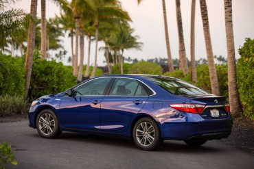 The 2015 Camry is a midsize sedan with full size interior room.