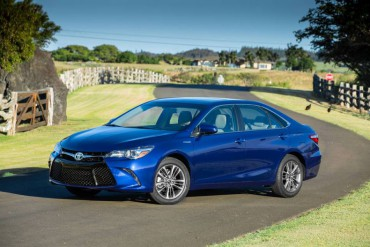 The Toyota Camry was totally restyled for 2015.