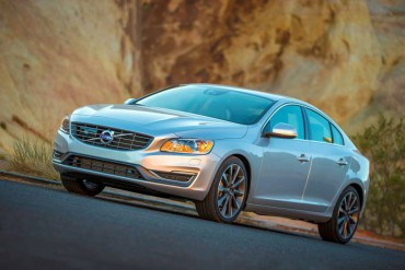 The 2015 Volvo S60 uses a supercharged four-cylinder engine for a great mix of power and economy.