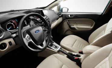 The Ford Fiesta has good front seat room and a thick, contoured steering wheel.