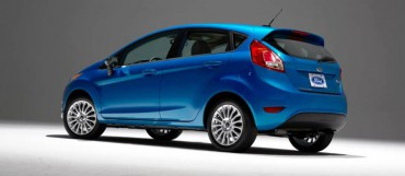 The Ford Fiesta is available as a 5-door hatchback or a 4-door sedan.