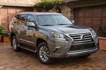 The Lexus GX460 is unchanged for 2015. It's a full-size, very rugged SUV.