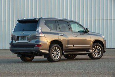 The Lexus GX460 has a single, side-hinged rear door, but the glass opens separately.