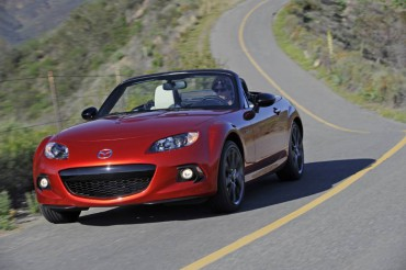The 2015 Mazda MX-5 Miata is best suited to twisty roads and sunny days.