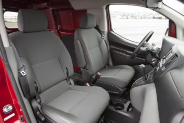 Seats are comfortable and supportive for long driving stints.