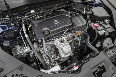 The four-cylinder engine is smooth and very adequate with 206 horsepower and 182 lb-ft of torque.