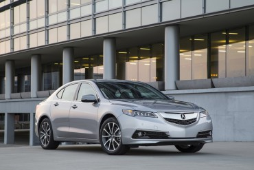The Acura TLX is all new for 2015. It replaces the TL and TSX. This is the top version with a V-6 and all-wheel-drive.