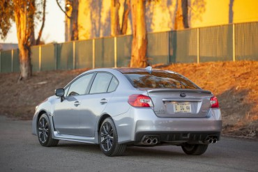 The WRX is sporty, but as flashy as the WRX STI. The more subtle WRX suits most  buyers.