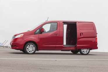 The 2015 Nissan NV200 has dual sliding doors for easy cargo access.