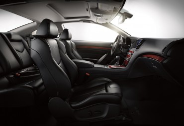 The Infiniti Q60S is marketed as a four-seater, but it's really only comfortable for two adults.