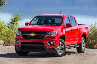 The all-new Chevrolet Colorado pickup is available in crew and extended cab versions.