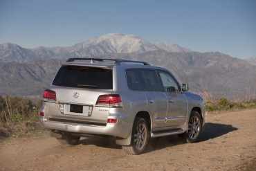 The Lexus LX570 is easily capable of traveling crude roads most owners would never consider trying.
