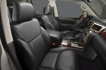 The LX570 front seats are as comfortable and luxurious as any SUV currently available.