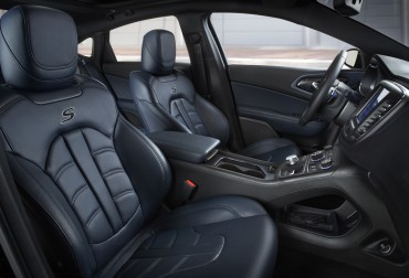 The 2015 Chrysler 200S interior is comfortable and well appointed with quality materials and features.