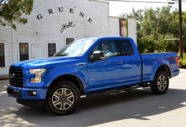 The handsome 2015 Ford F-150 Supercab is an excellent size compromise between passenger and cargo space.