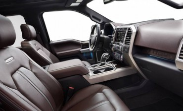 F-150 interiors are spacious, comfortable, and luxurious.