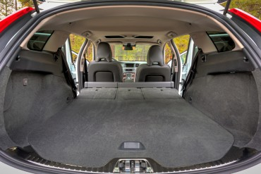 Cargo capacity is good, although the slant of the rear hatch is a limiting factor.
