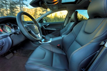 Volvo front seats are some of the most comfortable and supportive available.