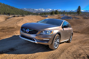 Paved roads are where most Volvos spend their time, but the V60 Cross Country is very proficient on dirt trails.