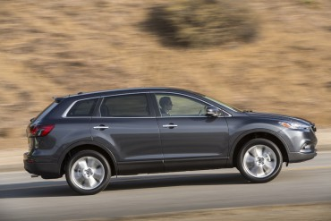 The CX-9 has full-time AWD for marginal road conditions, but it is most happy on the open highway.