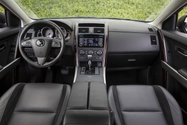 The spacious interior is well-appointed with easy to use controls.