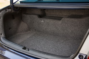 2015 Honda Accord Hybrids give up some trunk space and cargo versatility to accommodate the battery.