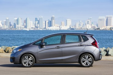 The 2015 Honda is compact on the outside and big inside.
