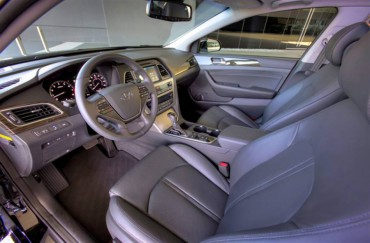 Interior comfort and room, both front and back, are Sonata strong points.