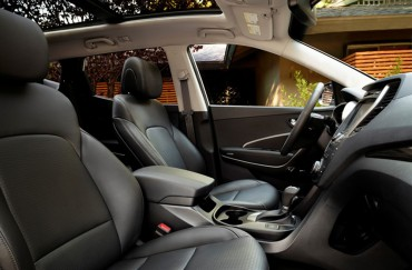 Front seat room and comfort are great. The panoramic sunroof makes the interior bright and cheery.