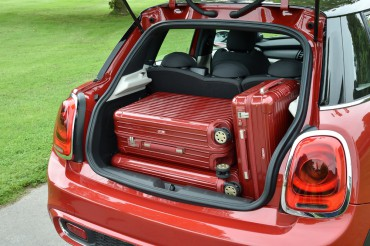 Luggage space behind the seats is quite good and easy to reach via the rear hatch.