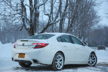 Excellent AWD makes the Buick Regal GS a great winter car.