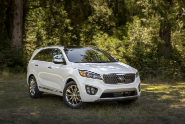 The 2016 Kia Sorento is one of the most handsome SUVs on the market.