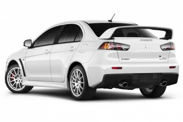 The Lancer Evo can be equipped with or without the rear wing.