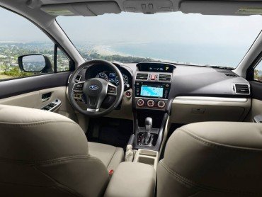The Impreza interior is spacious and well-appointed considering its value pricing.
