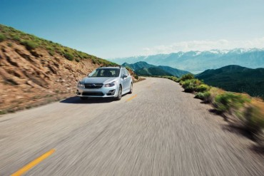 Subaru's winning rally heritage means the AWD Impreza is at home on any road surface.