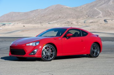 The Scion FR-S features crisp styling and even sharper handling.
