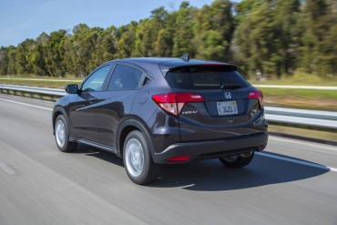 The Honda HR-V has very nice highway manners, but it's also agile off paved roads.