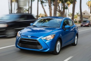 The 2016 Scion iA sedan is a great city car due to its compact size and easy maneuverability.