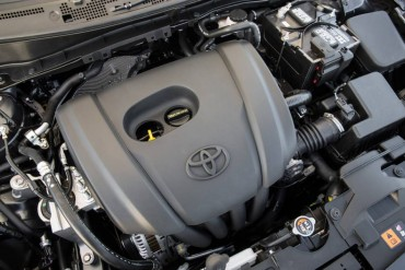 The Scion's 1.5-liter four-cylinder engine produces 106 hp. Six-speed manual and automatic transmissions are available.