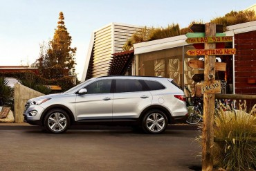 The Hyundai Santa Fe is a handsome SUV that's very capable on and off the highway.