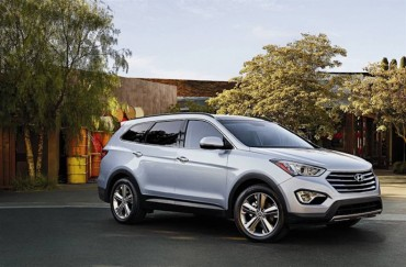 The Hyundai Santa Fe Limited is the company's largest SUV.