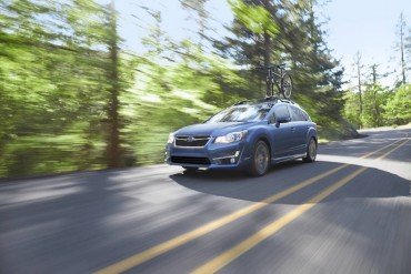The Subaru Impreza is a roomy, comfortable car with standard AWD.